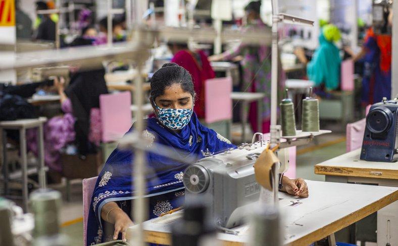 Garment worker COVID-19 Dhaka