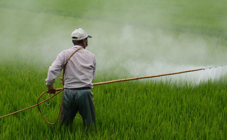 Farm worker Pesticide